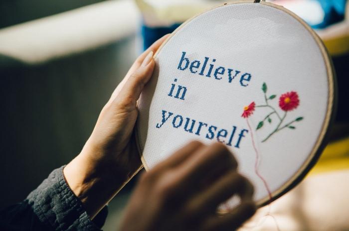 自分自身を信じた志望動機